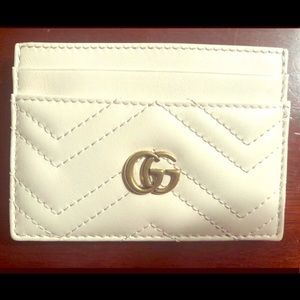 NWTS Gucci Marmont Card Holder